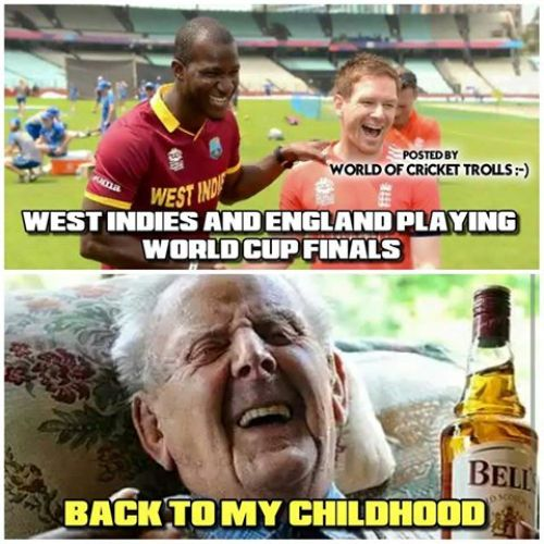Westindies vs England Worldcup T20 Final Match Memes