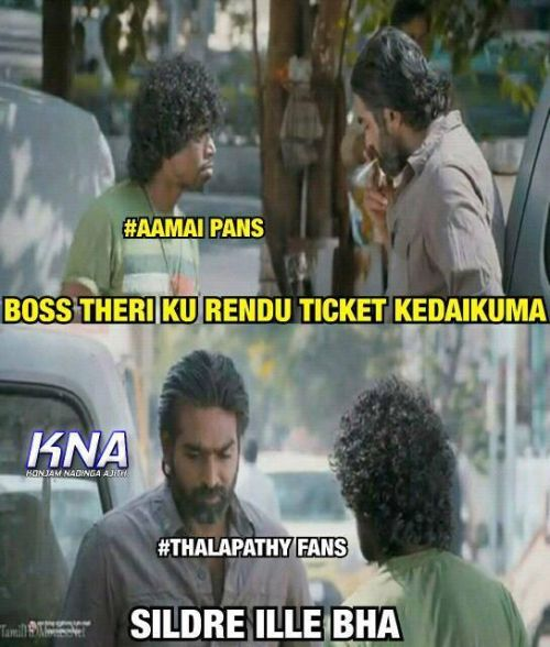 Ilayathalapathy Vijay fans urges to collect tickets in theaters memes & trolls
