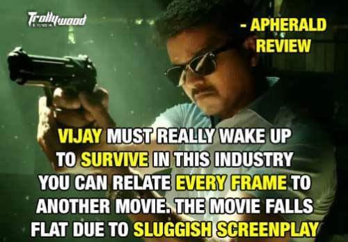 Theri movie poor review trolls