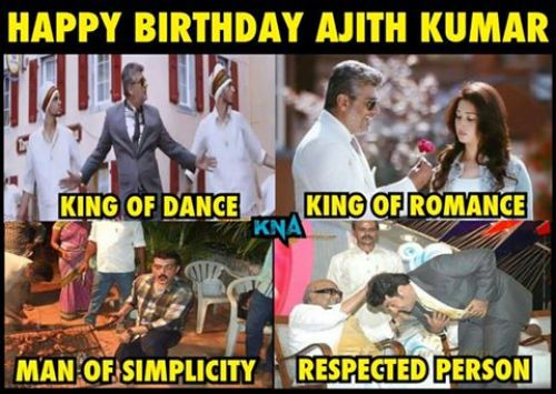 Ajith birthday trolls