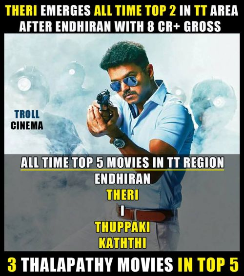 Theri final box office collection memes