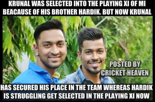 Krunal Pandya and Hardik Pandya Photos