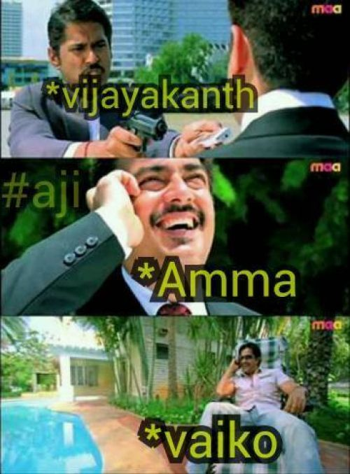 Thala ajith comments about tn election result memes