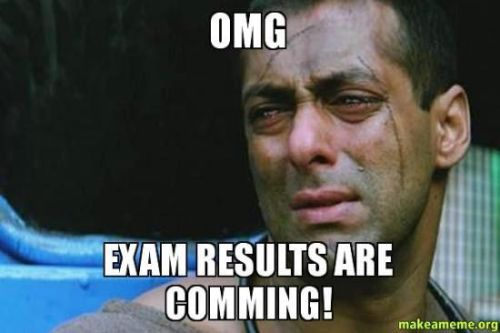 Exam results are coming memes and trolls