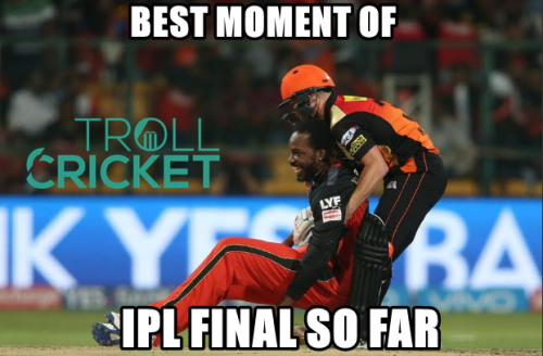 Gayle and Warner IPL FInal Fun Photos
