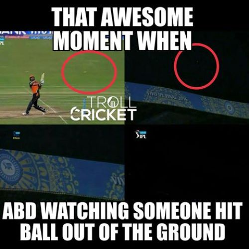 SRH Player Cutting hitting ball out of chinnasawmy stadium  for six