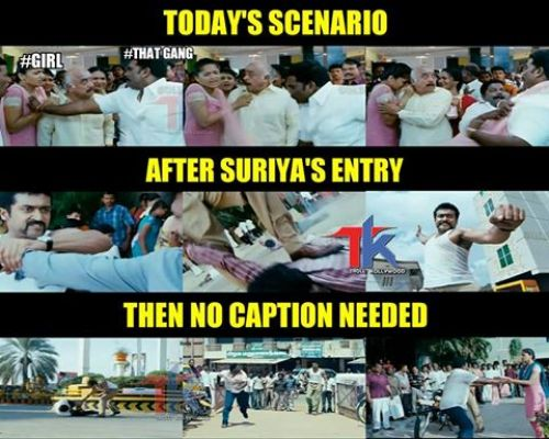 Premkumar filed case against surya becuase of viral fever and vomiting after slap by suriya