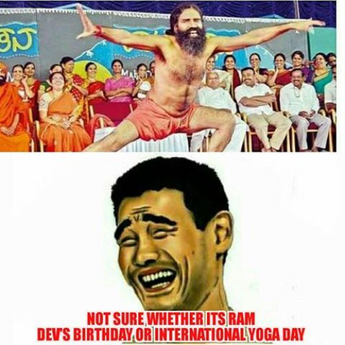 Yoga Day Funny Pics And Memes