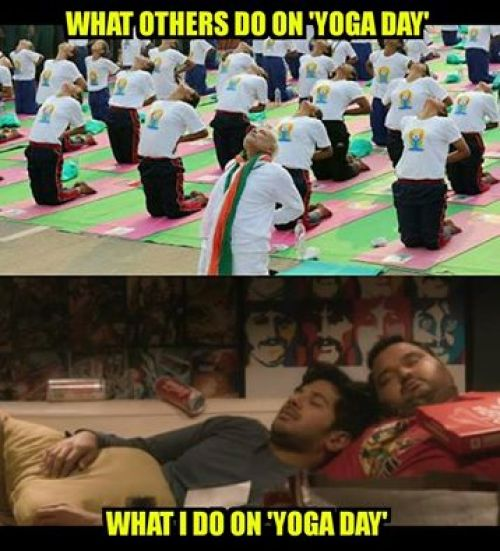Funny Meme Yoga : Yoga day funny pics and memes