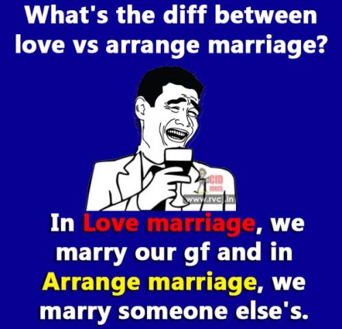 Love Marriage Vs Arrange Marriage Memes And Trolls