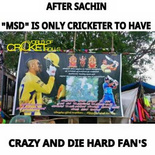 Dhoni fans birthday wishes