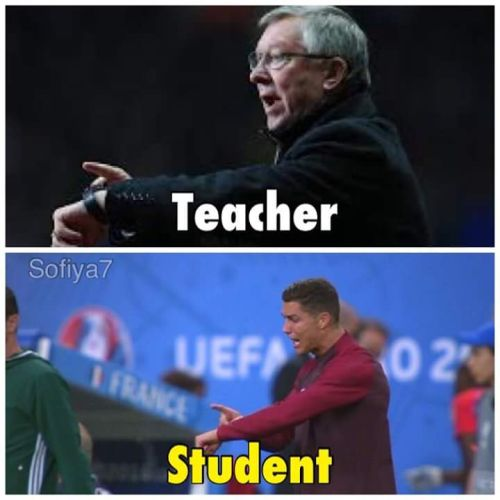 Ronaldo Coaching Portugal in Euro 2016 Final Pics