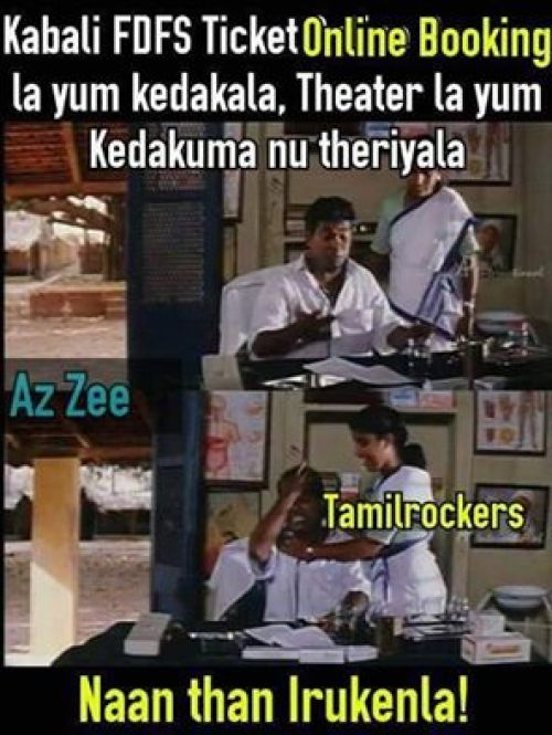 Kabali tamilrockers download memes