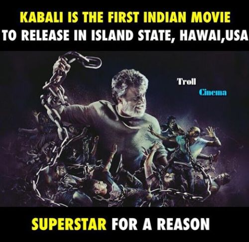 Kabali release in america island for first time
