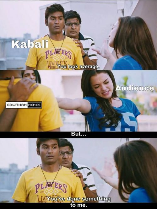 Kabali rating funny images