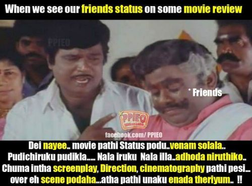 Tamil movie review funny images & quotes
