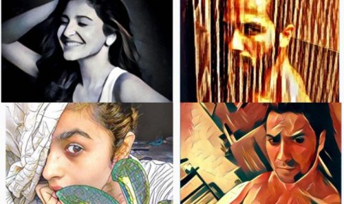 Alia, Shahid, Anushka, Varun- Which Bollywood actor's #Prisma selfie is your fav?