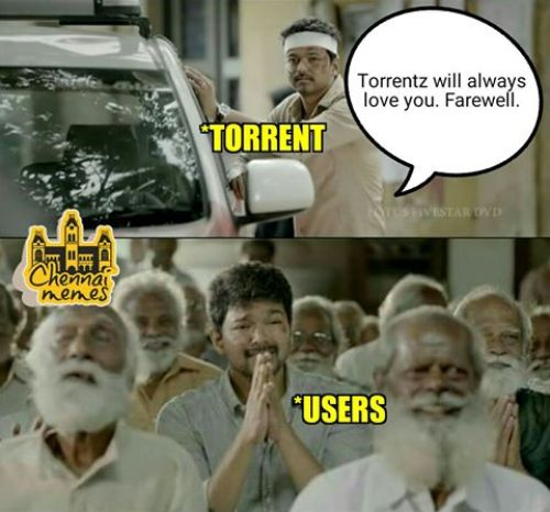 Torrent farewell public reaction memes