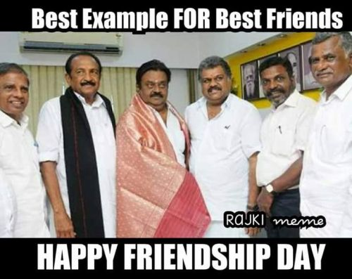 Vijayakanth wishes for friendship day