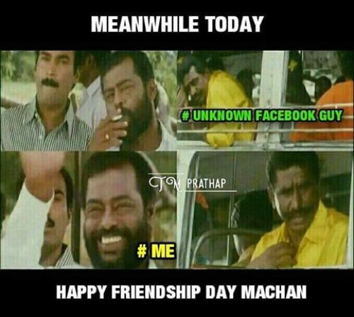 Friendship Day Facebook Memes