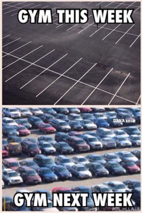 Gym parking memes