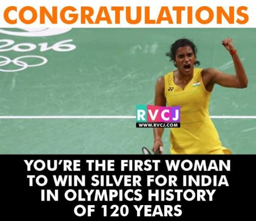PV Sindhu is the 1st woman to do it.. PROUD moment for the nation!!