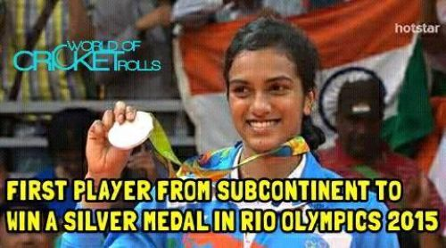 Proud moment for Subcontinent Fans... 2nd player after Sakshi Malik from Sub-Continent to win A medal In RIO Olympics 2016