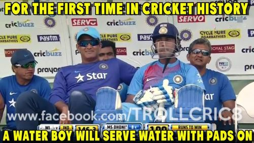 India vs WI T20 Trolls