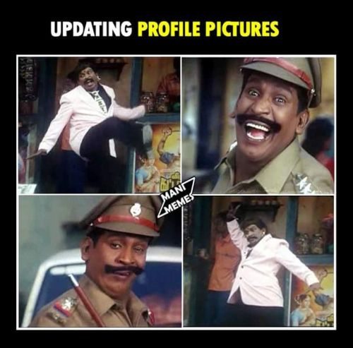 Vadivelu reactions for fb profile pictures