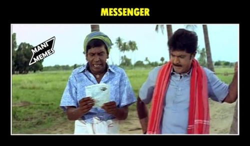 Vadivelu expression for facebook comment