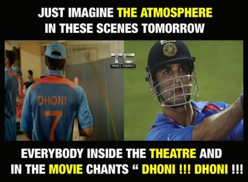 MS Dhoni sushanth movie memes