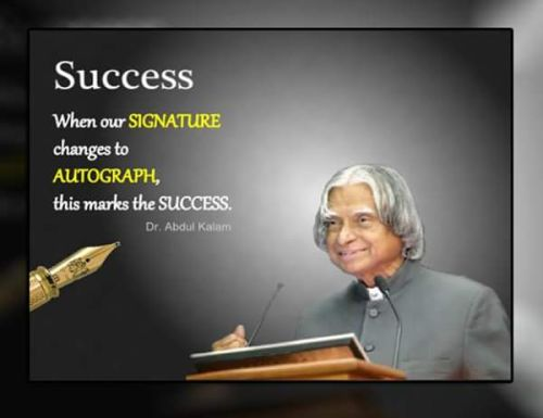 Abdul kalam birthday special quotes