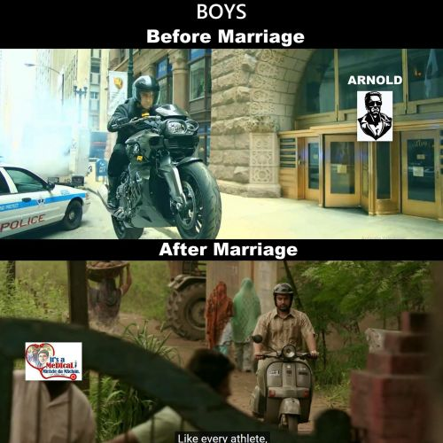 Boys before marriage and after marriage troll memes