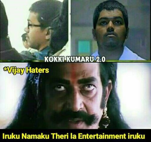 Vijay memes and trolls from theri