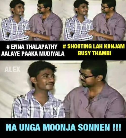 Vijay latest trolls