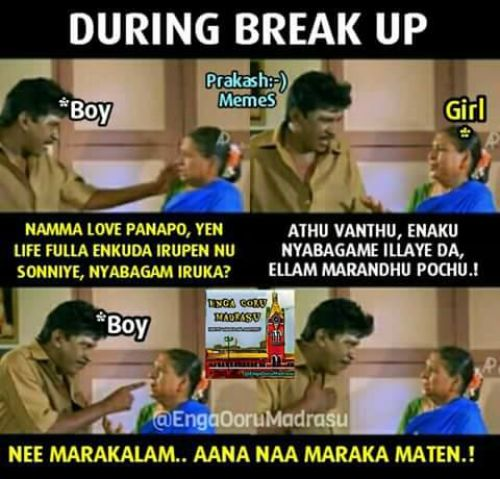 Boys Vs Girls Tamil Memes Trolls And Jokes
