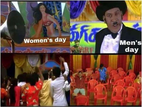Women S Day Funny Meme : International men s day tamil memes