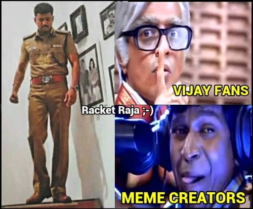 Theri movie memes and trolls