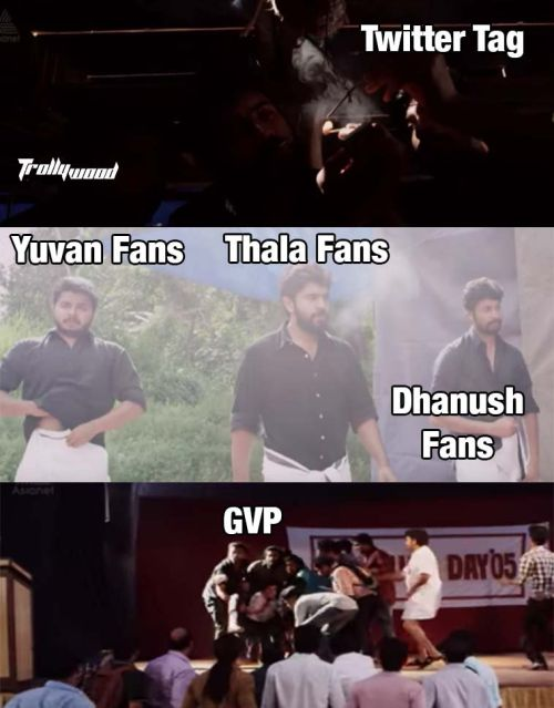 AJith fans tweet memes for GVP