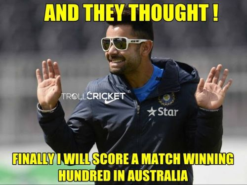 Indian cricket memes and trolls