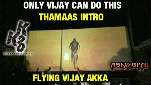 Bairava Vijay intro leaked video memes