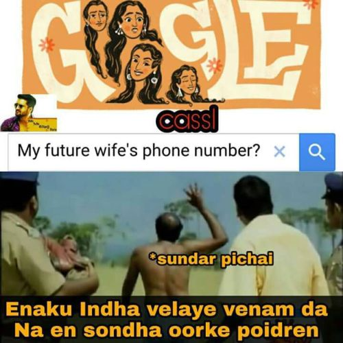 My future wife phone number google search meme