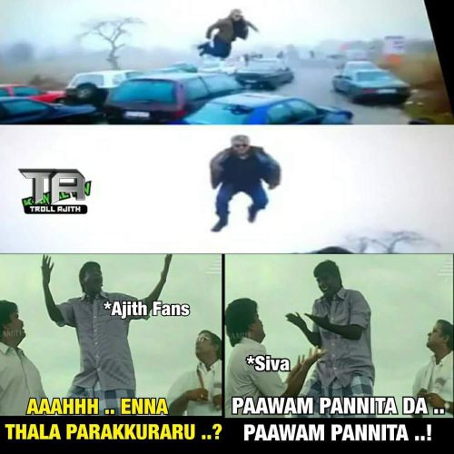 Vivegam bridge jump troll