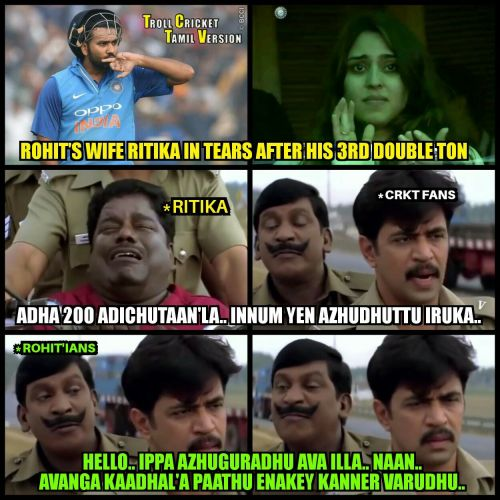 Rohit sharma wife crying in ground picsa