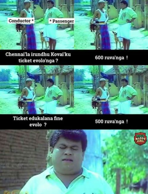 Bus fare hike in tamilnadu funny images