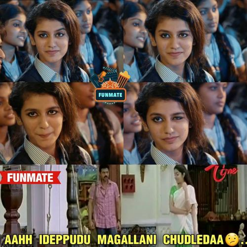 Priya prakash warrier movie images