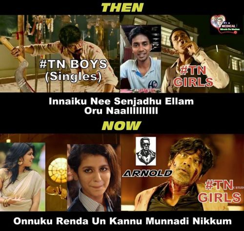 TN boys vs Girls war Memes