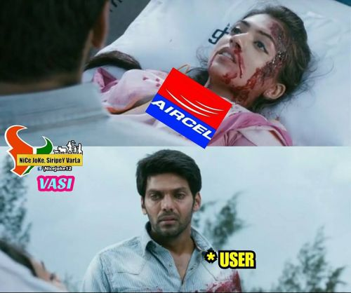 Aircel signal problem today memes