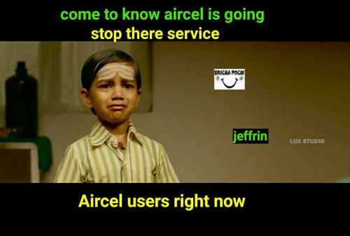 Aircel sim network problem