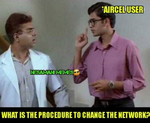 Aircel sim not detected